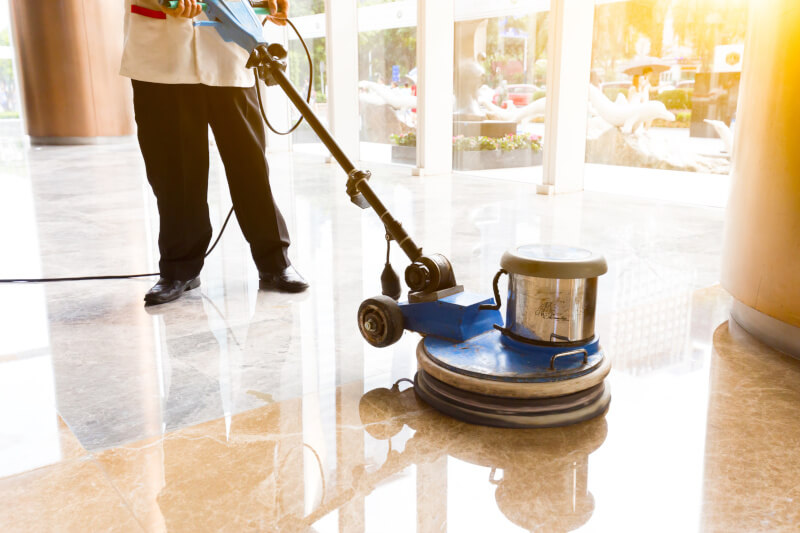 commercial floor cleaning services in New Orleans